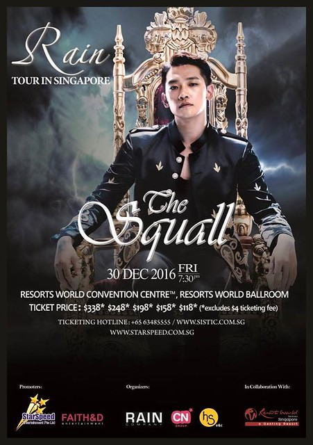 Rain 'The Squall' Tour in Singapore