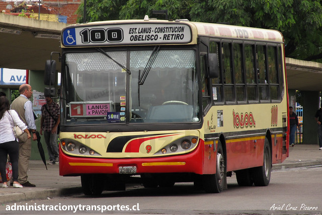 Buenos Aires 100   Tarsa   Corwin Bimet - Mercedes Benz / FHD789