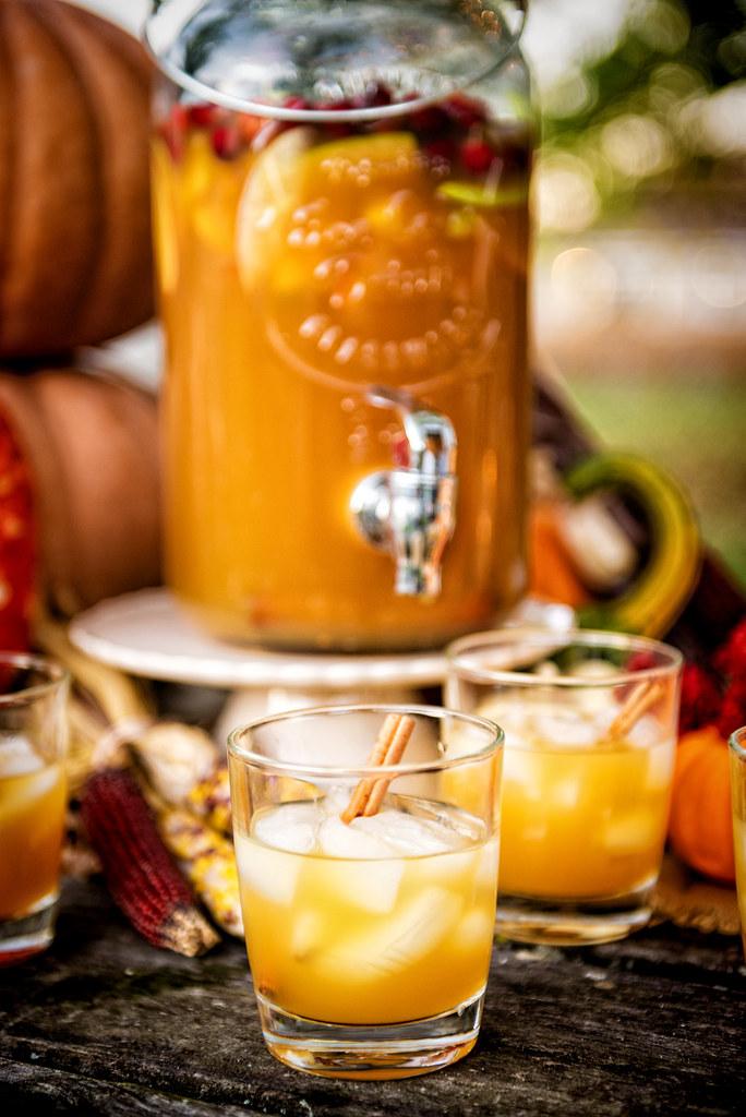 Autumn Harvest Sangria {Pass the Sushi}