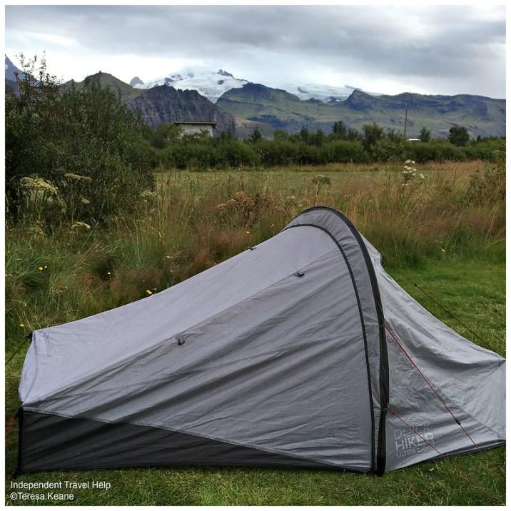 Skaftafell campsite