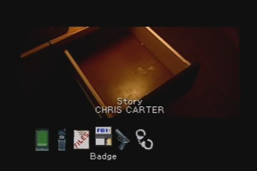 x-files story by chris carter