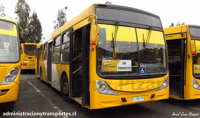 Transantiago | STP Santiago | Caio Mondego H - Mercedes Benz O500U / CJRD39