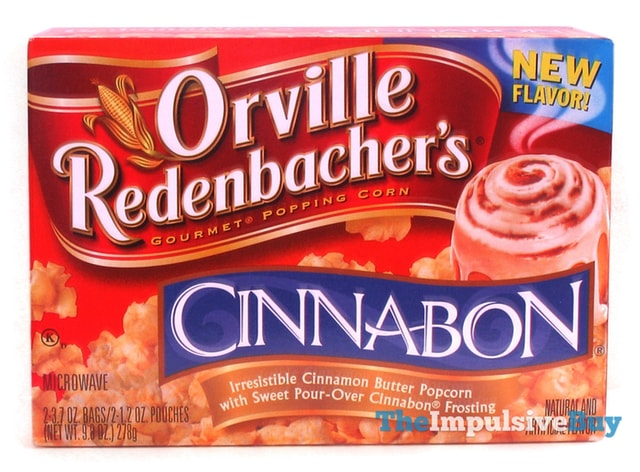 Orville Redenbacher's Cinnabon Popcorn