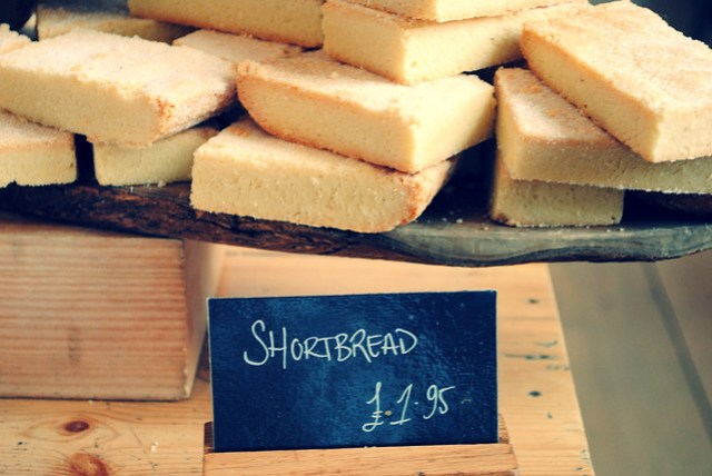 Shortbread could be taller