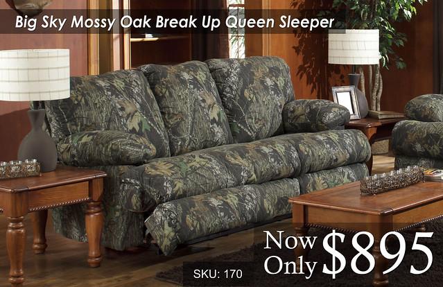 Big Sky Mossy Oak Sleeper