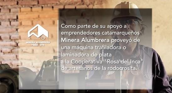 Comunidades Sostenibles: Artesanos de la Rodocrosita en Andalgalá