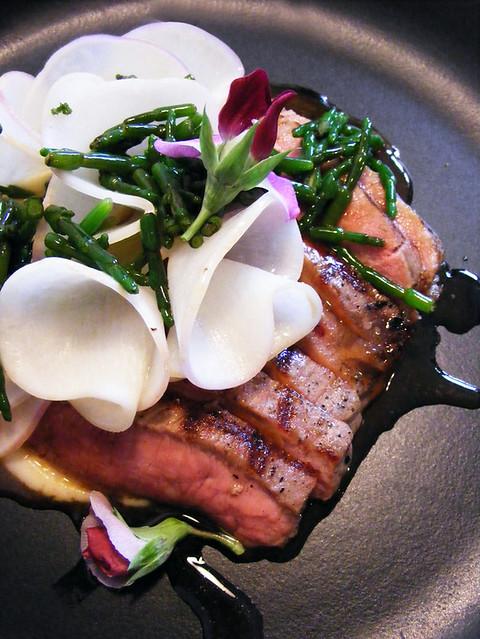 Lamb with turnip