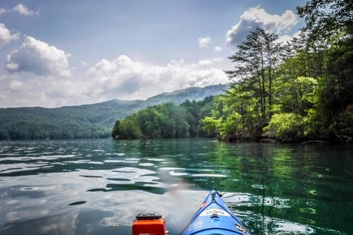 Lake Jocassee Kayaking-108