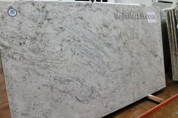 Salinas White Granite Slab