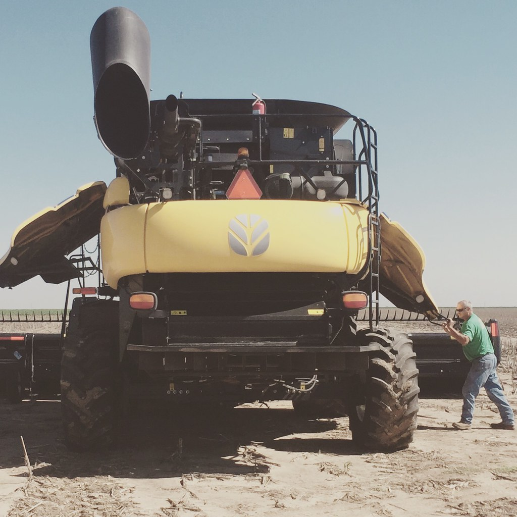 Z Crew: Because it's what harvesters do.