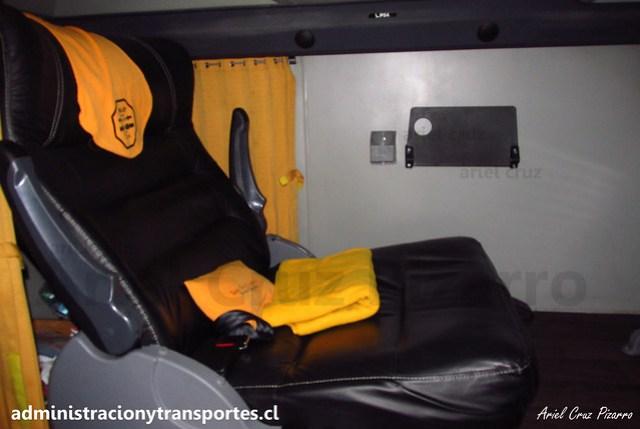 Talca París & Londres N° 6010 | Asiento Premium | Modasa Zeus 3 - Volvo B420R 8x2 / HTRF43