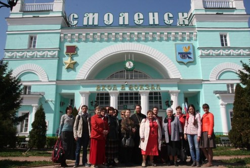 Паломническая поездка в Смоленск, день первый.