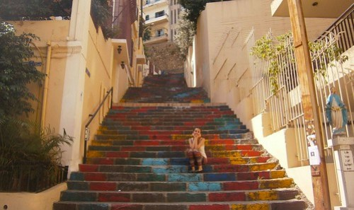END- colorful stairs in Beirut