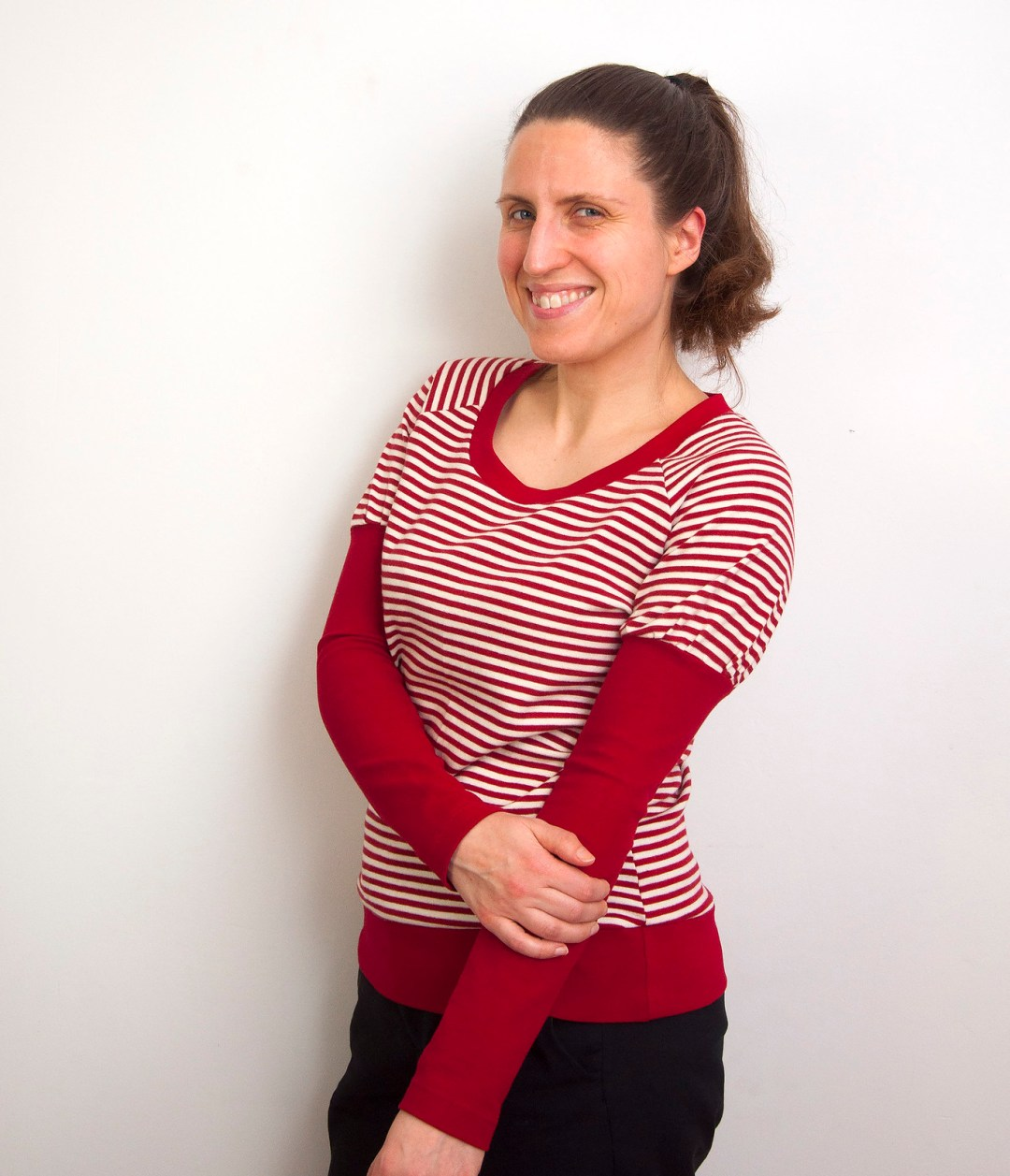 Burdastyle two in one sleeve top