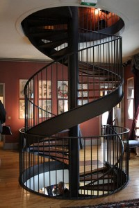 Staircase in the Maison de Jules Verne