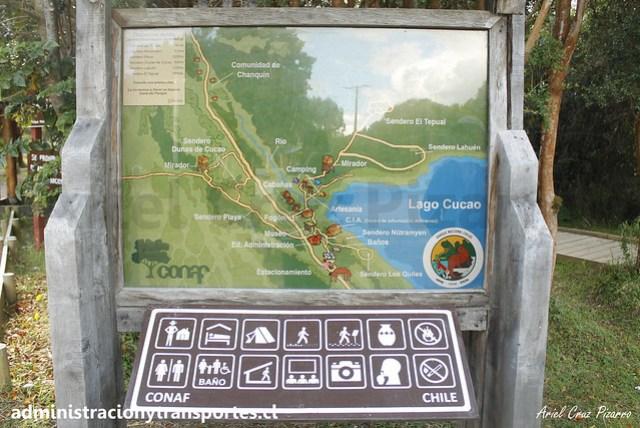 Mapa Parque Nacional Chiloé