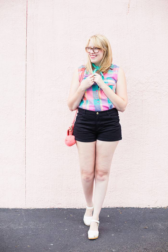 vintage blogger outfit for the heat of summer
