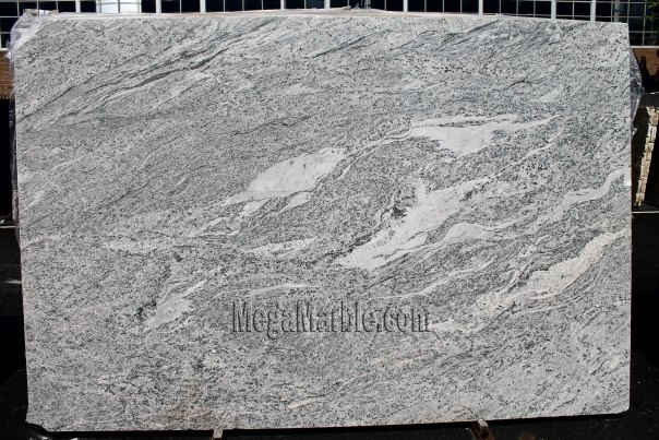 New Kashmir White Polished Granite Slab