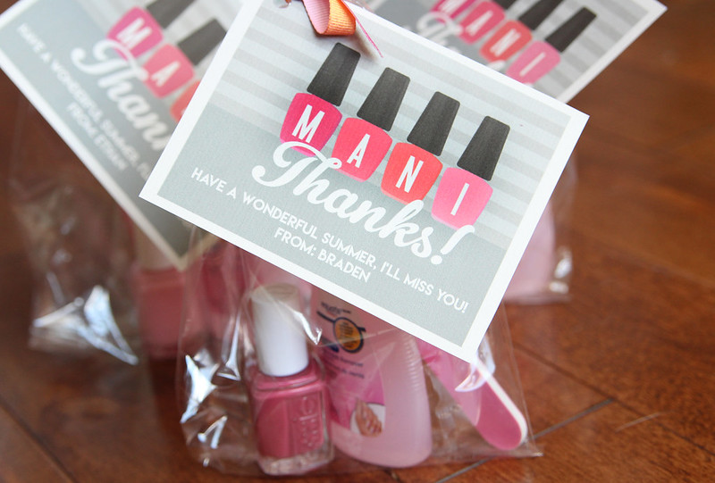 Manicure Thank You Gift