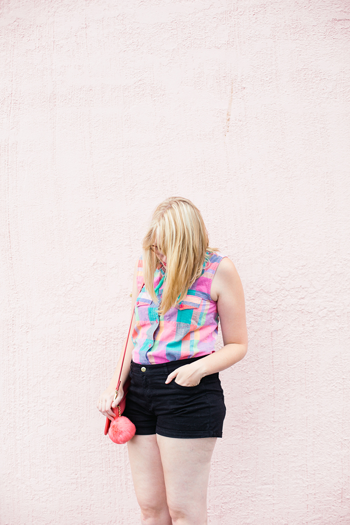 colorful vintage-inspired summer outfit