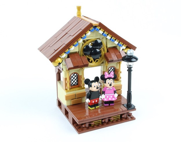 Mickey Mouse and Minnie Mouse Vignette