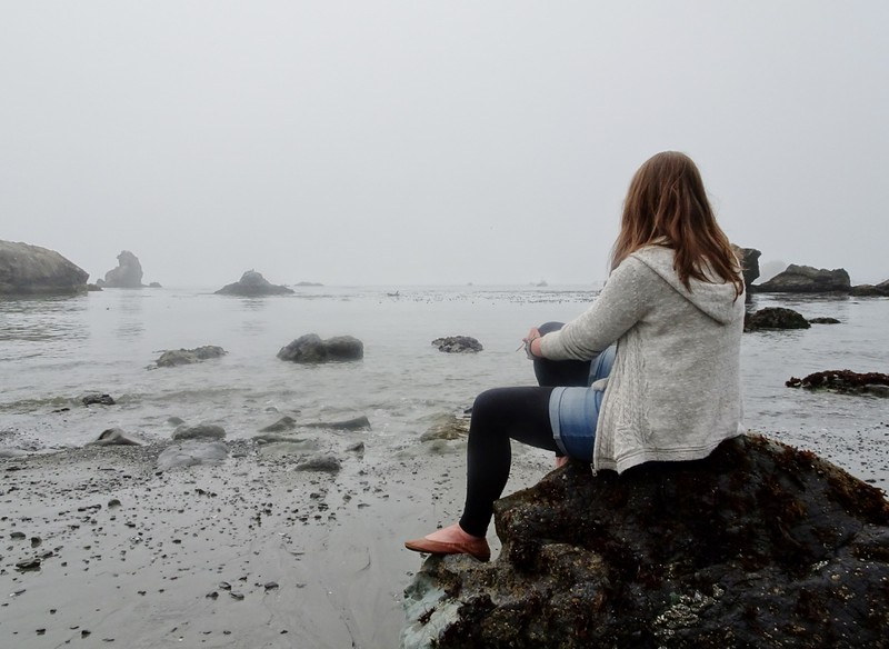Trinidad beach, California - the tea break project solo travel blog
