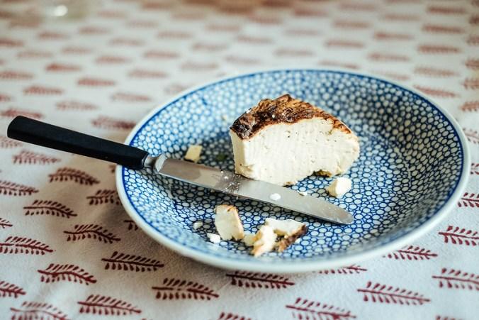 Gebakken schapenricotta / ricotta al forno van Schapenlekkers