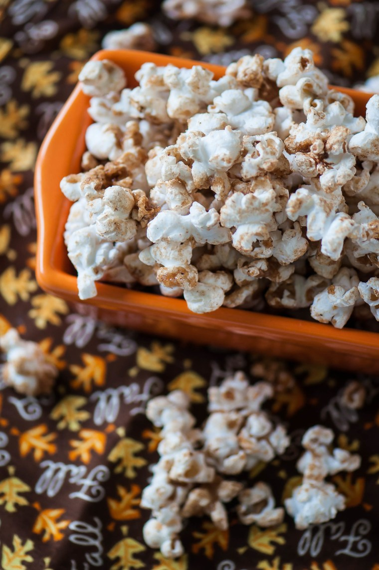 Brown Sugar Pumpkin Spice Popcorn 6