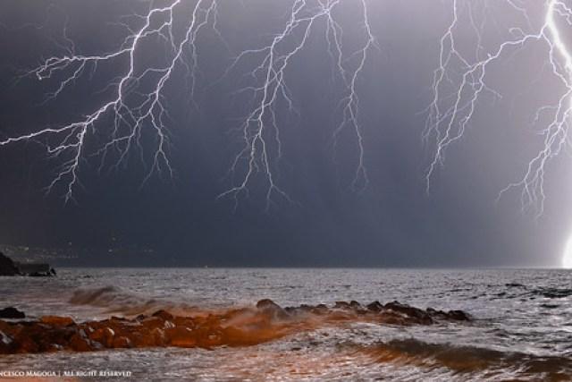 Lightning spell off shore [Explore]