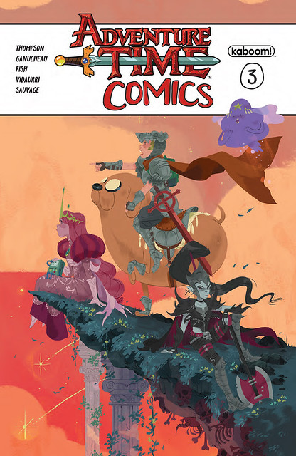 29906763685_42fc9dcfe6_z ComicList Preview: ADVENTURE TIME COMICS #3