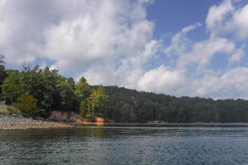 Lake Jocassee with Bennie Waddell-29