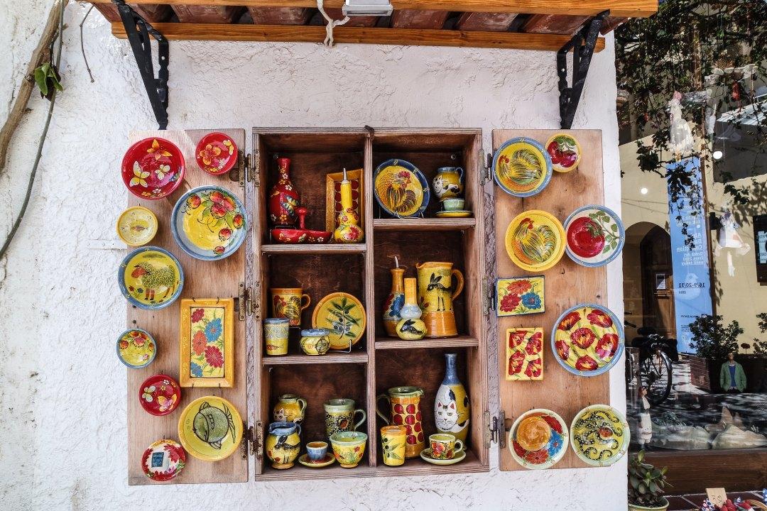 Ceramiche a Rethymno