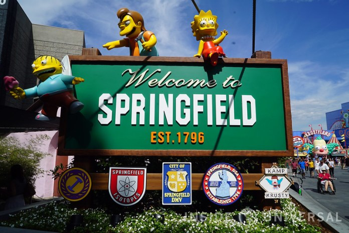 New characters from The Simpsons invade Springfield USA at Universal Studios Hollywood!