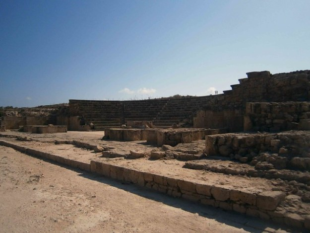 Archaeological Site Paphos Amplitheatre