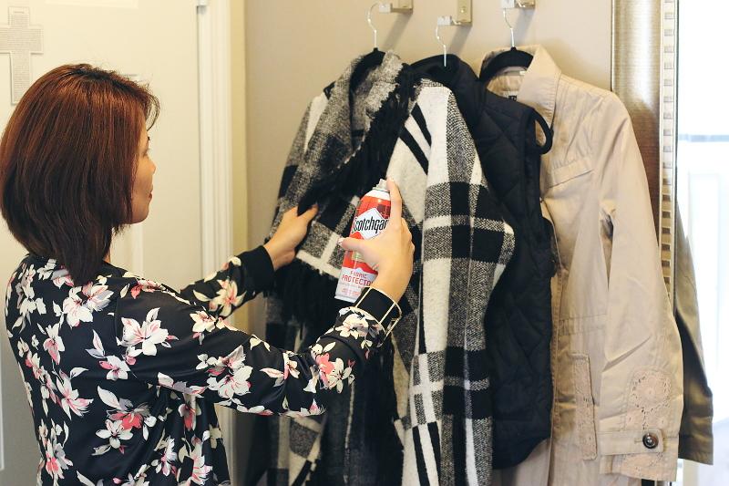 hang, coats and jackets, scotchgard