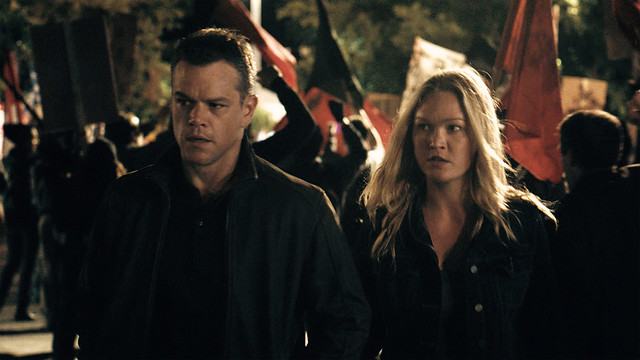 Jason Bourne Matt Damon Julia Stiles