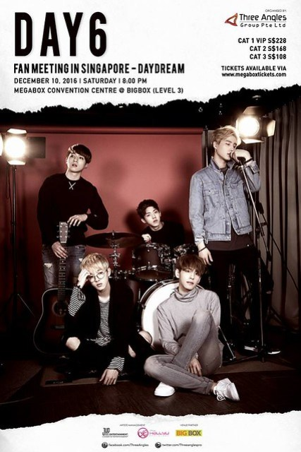 DAY6 Fan Meeting in Singapore – DayDream 2016