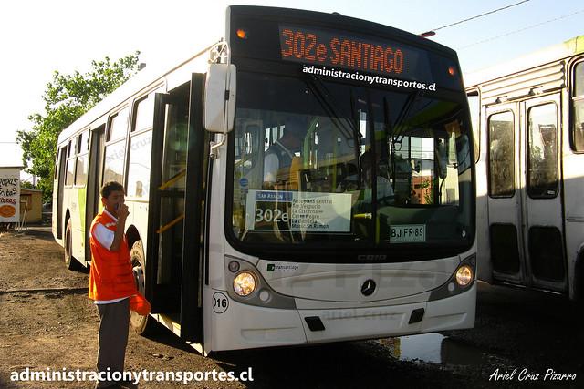 Transantiago | Buses Vule | Caio Mondego H - Mercedes Benz O500U / BJFR89 - 16