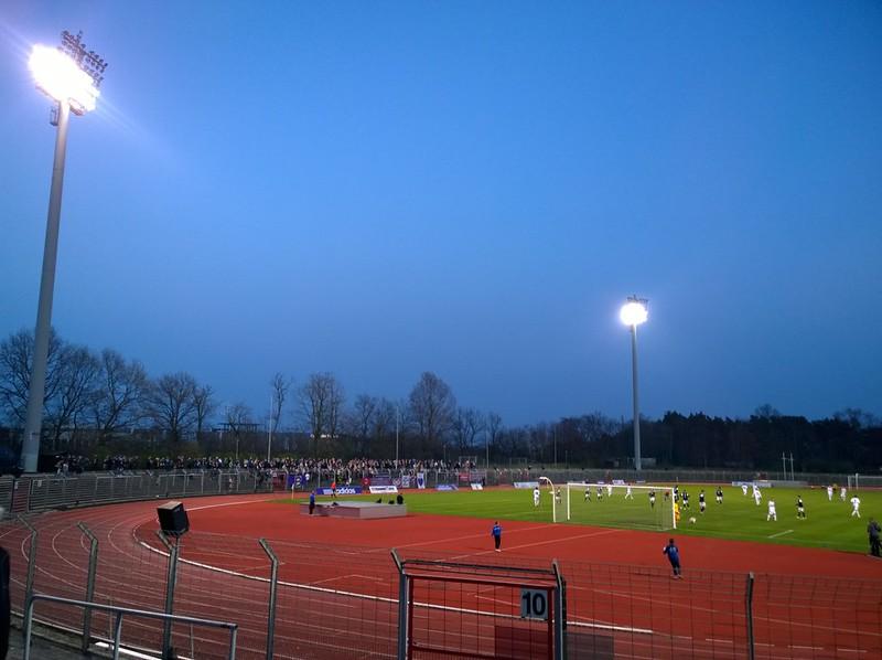 TEBE Berlin - 1. FC Wilmersdorf 1911 e.V.