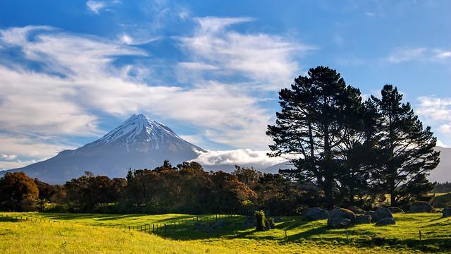 Mount Taranaki (Mt. Egmont), Neuseeland