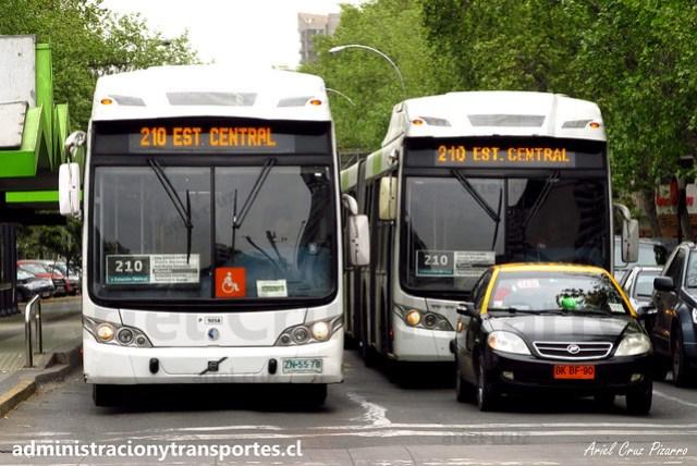 Transantiago 210 | Subus Chile | Caio Mondego LA - Volvo B9 SALF / ZN5578 - 9058
