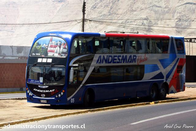 Andesmar Chile | Iquique | Metalsur Starbus 2 - Mercedes Benz / FXVV59 - 05