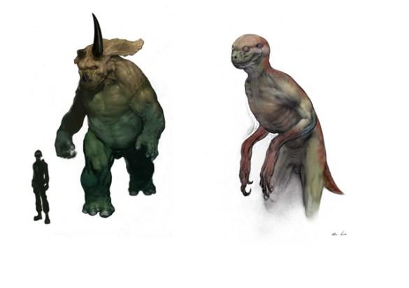 Híbridos Jurassic Park 4