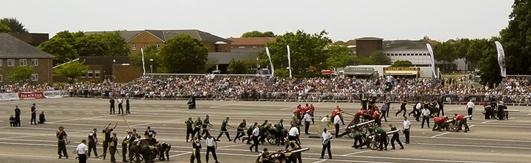 Royal Navy Royal Marine Charity Field Gun Competition