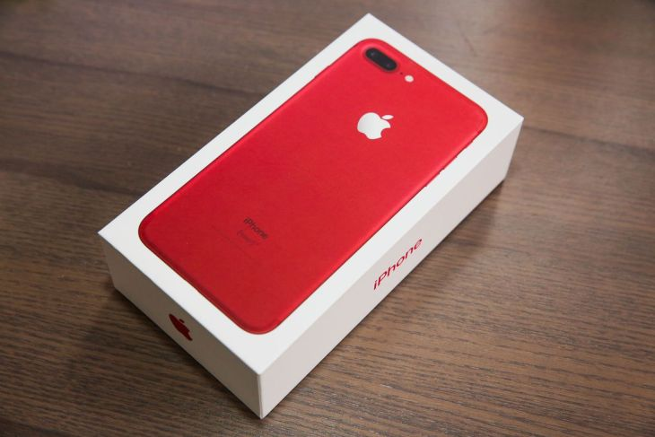 Red iPhone 7 2