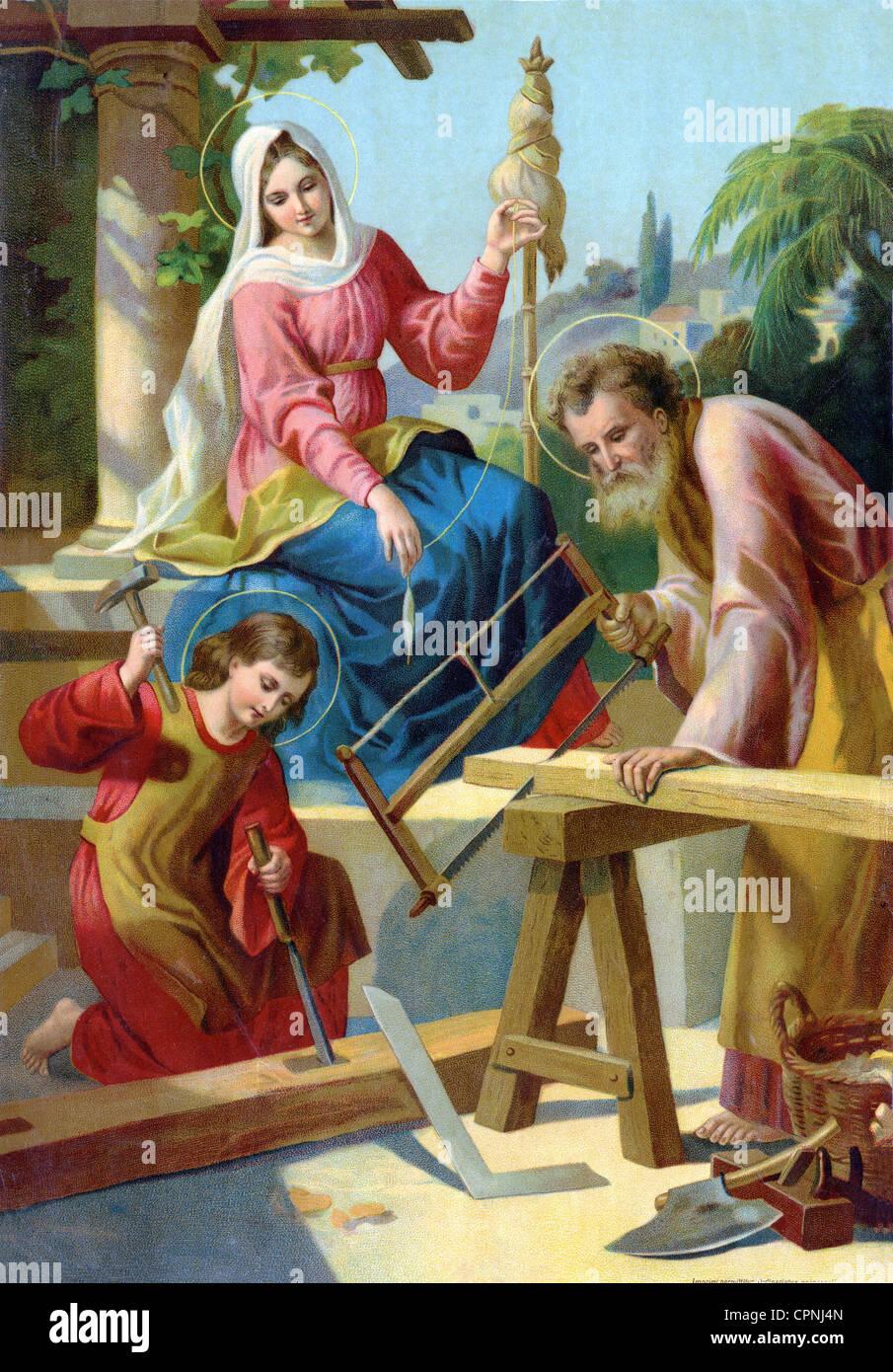Religion Christianity The Holy Family Mary Joseph