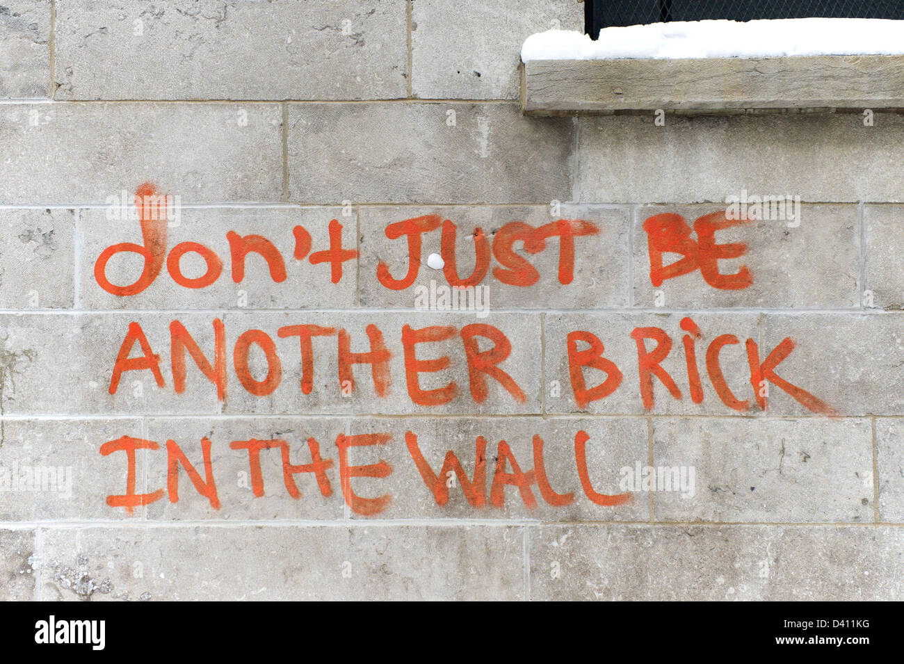 Brick Wall Artwork