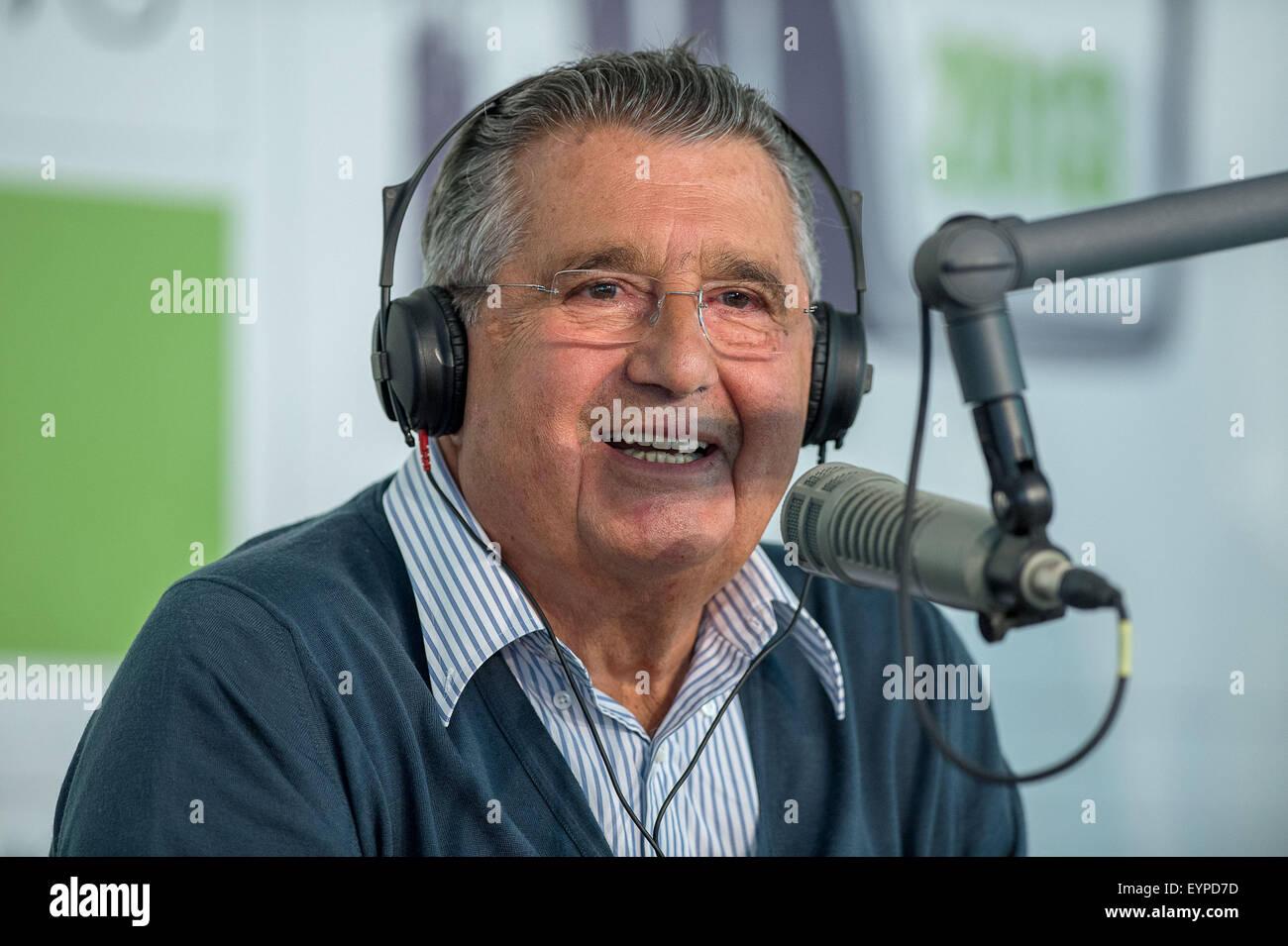CARLO DE BENEDETTI Stock Photo