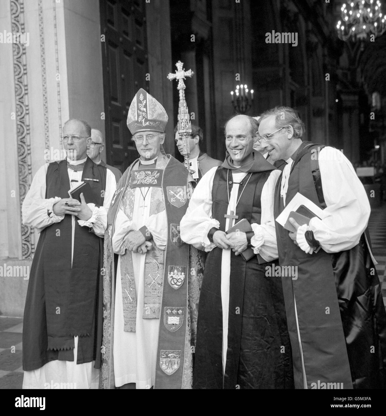 Religion - Rt Rev Peter Ball - Consecrated at St Paul's Cathedral - London Stock Photo
