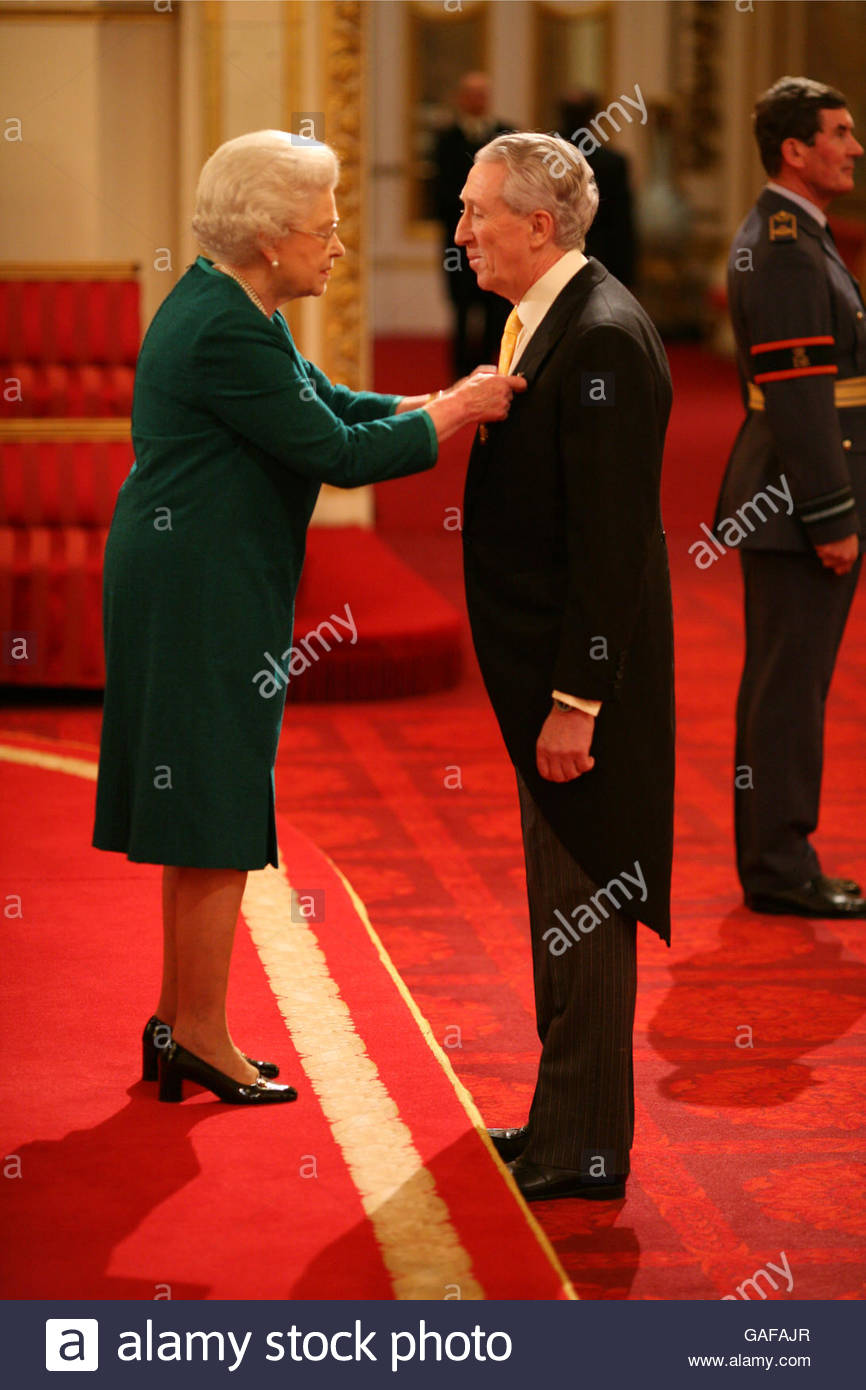 ROYAL Investitures Stock Photo